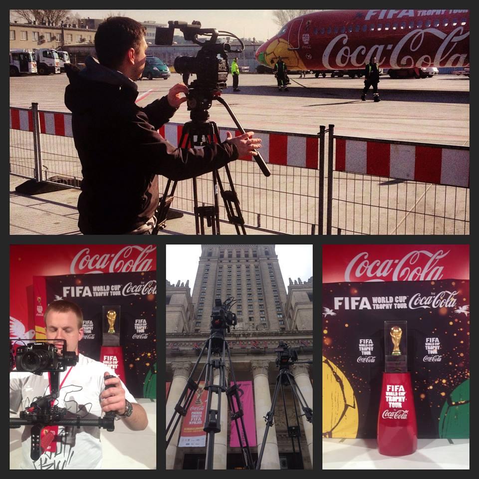 Produkcja teledysku z Eventu dla CocaColi