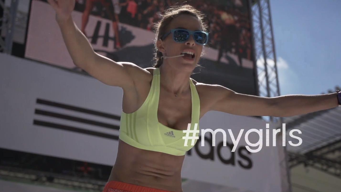 Adidas #mygirls Bicie rekordu guinessa z Ewą Chodakowską