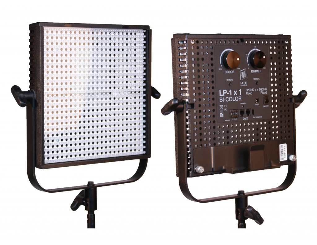 Litepanels 1X1 Bi-Color – V-lock 2szt.